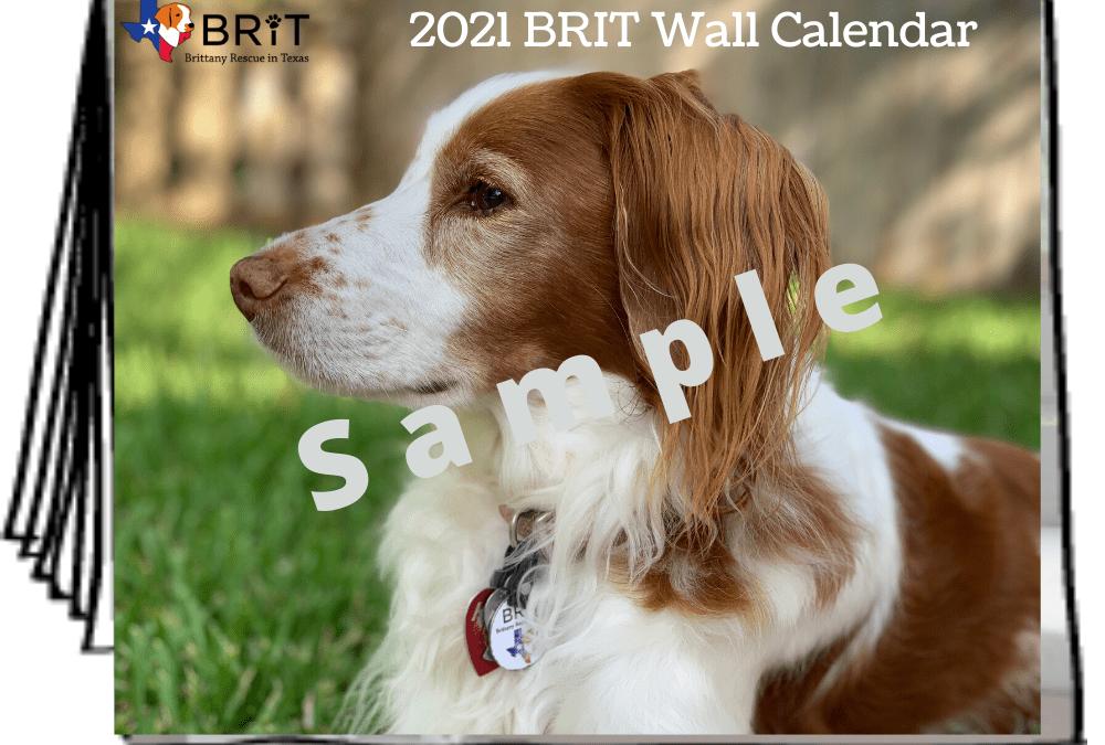 2021 BRIT Calendar