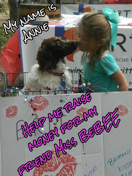Miss BeBEE's Virtual Kissing Booth